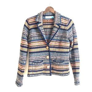 Anthropologie Sweaters - Anthropologie Sparrow Fair Isle Sweater Blazer-M